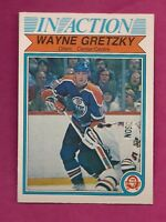 1982-83 OPC # 107 OILERS WAYNE GRETZKY IN ACTION NRMT-MT CARD (INV#6011)