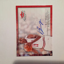 2013/14 UD Fleer Retro B J YOUNG #00AU-BJ Arkansas Razorbacks auto autographics