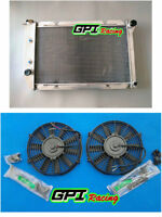 3ROW ALUMINUM RADIATOR + FAN 1969-1973 DPI381 FORD MUSTANG COUGAR /FORD /LINCOLN
