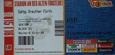 VIP TICKET 2. BL 2015/16 Union Berlin - Greuther Fürth