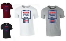 Value Secret Santa Gift Christmas Xmas T-shirt Present Tesco TOP (VALUE,TSHIRT)