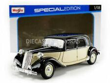 Voitures, camions et fourgons miniatures noir Maisto Citroën