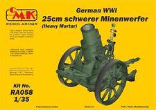 CMK 1/35 German WWI 25 cm Schwerer Minenwerfer (lourd mortier) # RA058