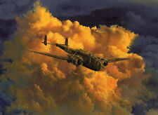 Handley-Page Hampden 49 Sqd Victoria Cross Aviation Painting Art Print