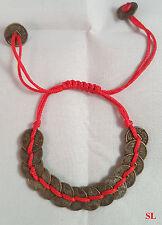 Bracelet Feng shui avec les pièces chinoises porte bonheur, richesse