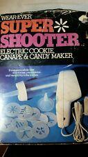 VINTAGE Wear-Ever Super Shooter Electric Cookie Press 70001 WORKS Missing Book