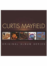 CURTIS MAYFIELD - SERIE Álbum Original: Back to the world / CURT NUEVO CD