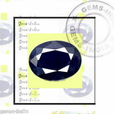 7.25CT NATURAL BLUE SAPPHIRE/NEELAM GEMSTONE BIRTHSTONE april may october