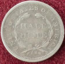 Estados Unidos Medio Centavo 1856 (C2210)