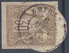 FRANCE TYPE SAGE N°69 OBLITÉRATION CAD SMYRNE (TURQUIE D'ASIE) COTE MAURY 35€