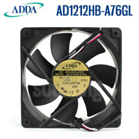 About ADDA AD1212HB-A76GL 120*25MM 12V 0.37A chassis silent cooling fan