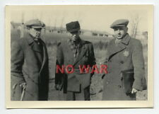 1940 ORIGINAL OLD PHOTO GROUP JEW JEWISH MEN CIVILIANS IN GHETTO POLAND
