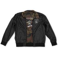 Thrasher Magazine Mark Gonzales GONZ COACH Windbreaker Jacket BLACK/CAMO LARGE