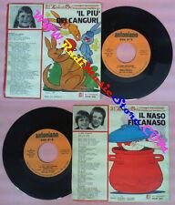 LP 45 7'' ZECCHINO D'ORO Il naso ficcanaso Il piu'canguri ANTONIANO no*cd mc vhs