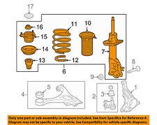 HONDA OEM 07-11 Civic Front Suspension-Strut Assembly Left 51602SNXA04