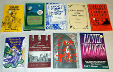 Lot 9 books on true scary haunting GHOST STORES from USA, regional DE CO NC PA