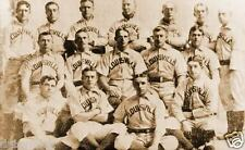 Louisville Colonels USA Baseball Team 1897, 6x4 Inch Reprint Photo