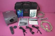 Sanyo PLC-5600N Multimedia ProX-II LCD TV Projector + Remote Cords Case COMPLETE