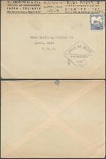 Palestine WWII - Cover to USA - Censor 10000/92