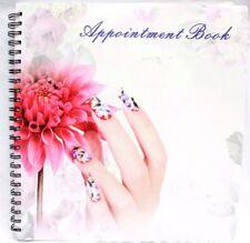 Beauty Hair Nail Salon Spa Appointment Book Schedule Calendar Planner 6 Columns