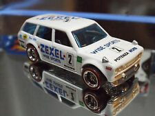 Hot Wheels Special Custom ZEXEL '71 DATSUN BLUEBIRD 510 WAGON with Real Riders.