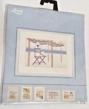 New Lanarte Counted Cross Stitch Scene Lady In Chair Cross Stitch Kit  #33609