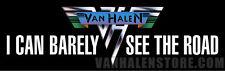 Van Halen Bumper Sticker - Vinyl Weatherproof Officially Licensed