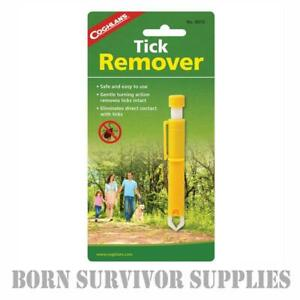 COGHLAN'S TICK REMOVER - Insect Removal Tweezers Tool First Aid Kit Cat Dog Pet