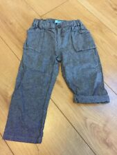 Primark Mini Rebel Blue Linen Trousers 2-3 Years