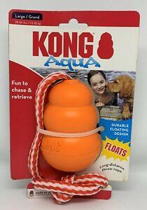 Aqua Kong Floating Dog Toy with Rope - 2 Sizes