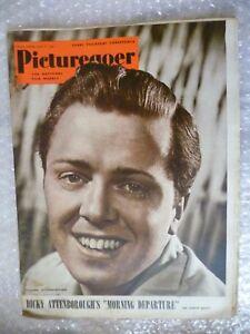 1950 PICTUREGOER Magazine- Richard Attenborough ,8 April