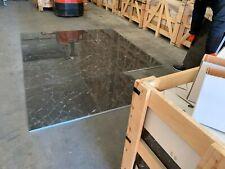 Black Carrara Polished Marble Tiles 100x100mm Sample Limestone Travertine
