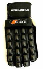 Grays Field Hockey Gloves Left HandBlack/White X-Small XS Full Finger Lacrosse