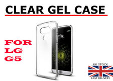 for LG G5 Transparent Crystal Clear Back Case Silicone GEL Case TPU Cover Skin