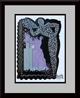 ERTE - Aquarius Zodiac Suite Custom Framed Original Book Print