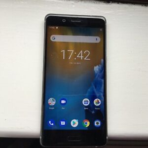 Nokia 8 - 64 GB - Steel (Unlocked) Smartphone MODEL TA-1012