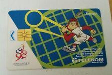Malaysia Orang Utan Squash Commonwealth Games Phone Card Sukom 98 Logo 电话卡