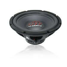 "Massive Audio ECO 12S4 12 500 Watts 12"" Single 4 Ohm Car Audio Subwoofer"