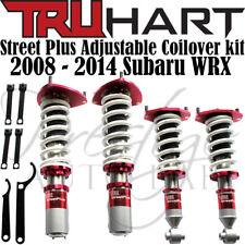 TRUHART Street Plus Adjustable Coilovers Kit for 2008-2014 Subaru Impreza