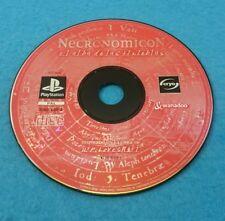 SONY PLAYSTATION 1 PS1 JUEGO PAL SOLO DISCO - NECRONOMICON