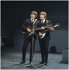 "The Beatles John Lennon George Harrison 8 x 10"" Photo Print"