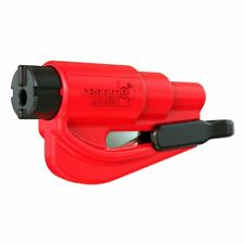resqme® Car Escape Tool - Red, 1 pack, Seatbelt Cutter / Window Breaker