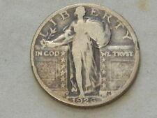 1926 D standing liberty quarter dollar silver twenty five cent coin