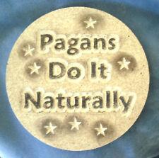 Gothic pagan wicca celtic plaster concrete plastic mold