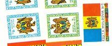 BANDIERA & STEMMA - FLAG & COAT MOLDOVA 1991 set