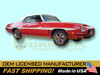 1971 1972 Pontiac LeMans Decals & Sword Stripes Kit