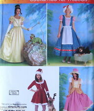 Andrea Schewe costume pattern size 14 16 18 20 dog princess frog Milkmaid