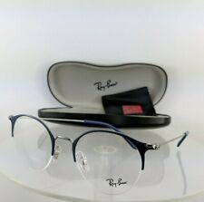 71edf3961b82e Brand New Authentic Ray Ban Eyeglasses RB 3578 2906 48mm Blue Frame RB3578V