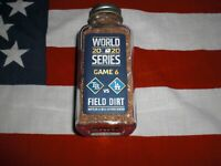2020 LA DODGERS WORLD SERIES CHAMPIONS  GAME USED FIELD  DIRT GAME 6  * LQQK *