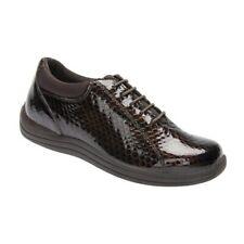 Drew TULIP  Womens Brown Metallic Reptile Print Orthopedic Shoes Sz 6 1/2 N #180